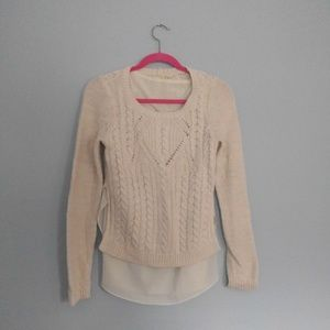 MOTH Ella Layered Pullover Sweater
